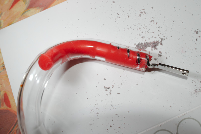 Removing Silicon Tube