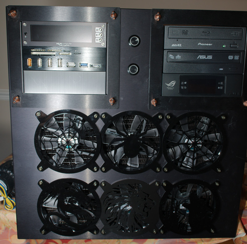Overlapping Fan Grills
